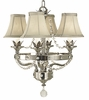 Framburg Lighting (2064) 4-Light Princessa Mini Chandelier