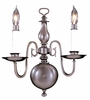 Framburg Lighting - Jamestown Bath and Sconces in Mahogany Bronze - FBG-9122