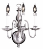 Framburg Lighting - Jamestown Bath and Sconces in Satin Pewter - FBG-9123