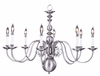 Framburg Lighting - Jamestown Dining Chandeliers in Satin Pewter - FBG-9130
