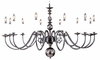 Framburg Lighting - Jamestown Foyer Chandeliers in Mahogany Bronze - FBG-9142