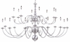 Framburg Lighting - Jamestown Foyer Chandeliers in Satin Pewter - FBG-9145