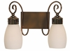 Framburg Lighting - Katarina Bath and Sconces in Roman Bronze - FBG-4232