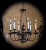 Framburg Lighting - Kensington Dining Chandeliers in Aged Bronze - FBG-7306