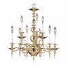 Framburg Lighting (7449) Nine Light Chandelier from the Kensington Collection