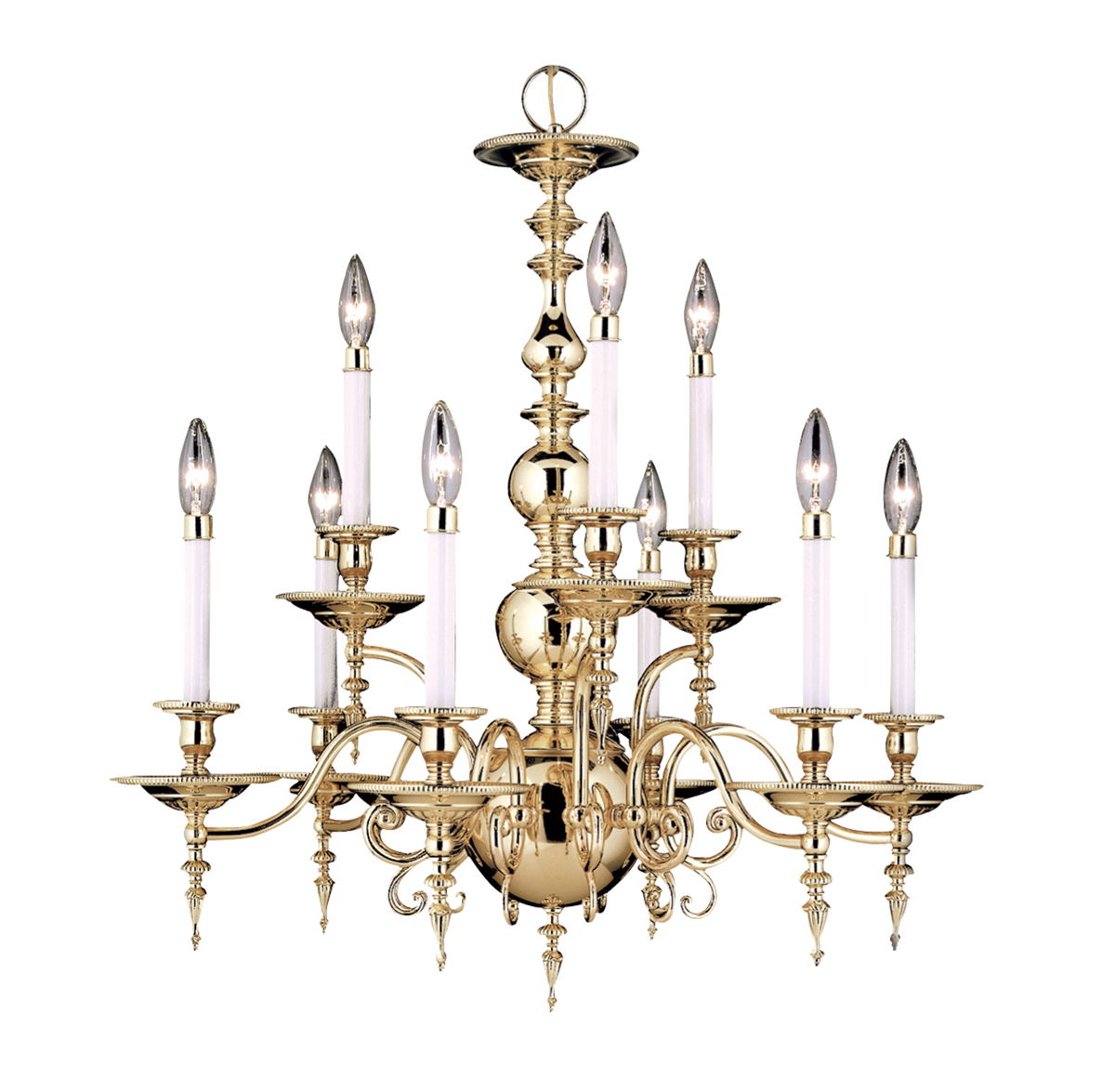 Framburg Lighting (7449) 9-Light Kensington Dining Chandelier