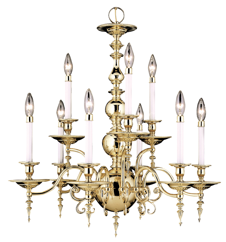 Framburg Lighting - Kensington Dining Chandeliers in Polished Brass - FBG-7449
