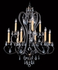 Framburg Lighting (9909) Nine Light Chandelier from the Liebstraum Collection