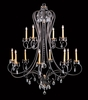Framburg Lighting (9907) Twelve Light Chandelier from the Liebstraum Collection