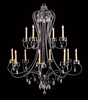 Framburg Lighting (9907) 12-Light Liebestraum Foyer Chandelier