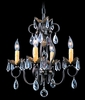 Framburg Lighting (9904) Four Light Chandelier from the Liebstraum Collection