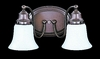 Framburg Lighting (8412) Two Light Bath Fixture from the Magnolia Collection