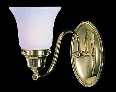 Framburg Lighting (8411) Single Light Bath Fixture from the Magnolia Collection