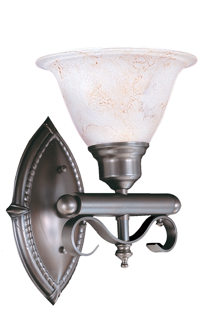 Framburg Lighting (9471) Single Light Bath Fixture from the Metalcraft Collection