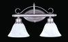 Framburg Lighting (9472) 2-Light Metalcraft Wall Sconce