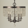 Framburg Lighting (2275) Five Light Chandelier from the Princessa Collection