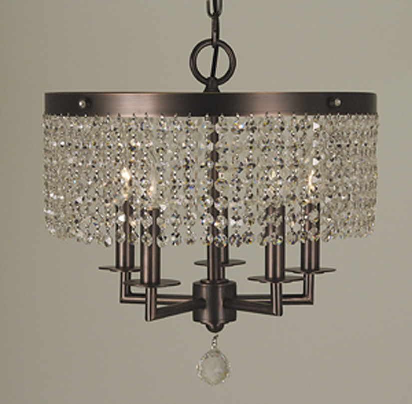 Framburg Lighting - Mirabelle Dinette Chandeliers in Siena Bronze - FBG-2275
