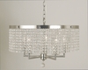 Framburg Lighting (2276) Five Light Chandelier from the Princessa Collection