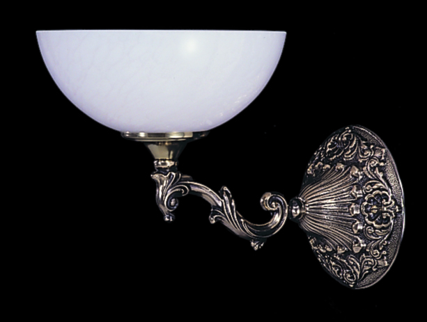 Framburg Lighting (8401) Single Light Sconce from the Napoleonic Collection