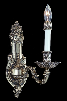 Framburg Lighting (8701) Single Light Sconce from the Napoleonic Collection