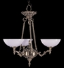 Framburg Lighting - Napoleonic Dinette Chandeliers in French Brass - FBG-8403