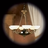 Framburg Lighting (8406) Six Light Chandelier from the Napoleonic Collection