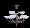 Framburg Lighting (8409) 9-Light Napoleonic Dining Chandelier