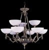 Framburg Lighting - Napoleonic Dining Chandeliers in French Brass - FBG-8409