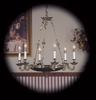 Framburg Lighting (8706) Six Light Chandelier from the Napoleonic Collection