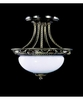Framburg Lighting (8397) Two Light Semi-Flush Mount from the Napoleonic Collection