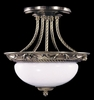 Framburg Lighting (8397) 2-Light Napoleonic Flush / Semi-Flush Mount