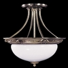 Framburg Lighting (8398) 2-Light Napoleonic Flush / Semi-Flush Mount