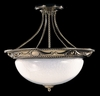 Framburg Lighting - Napoleonic Flush Mounts and Semi-Flush Mounts in French Brass - FBG-8399