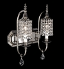 Framburg Lighting (2042) Two Light Bath Fixture from the Princessa Collection