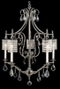 Framburg Lighting (2045) Five Light Chandelier from the Princessa Collection