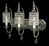 Framburg Lighting (2049) Three Light Chandelier from the Princessa Collection