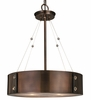 Framburg Lighting - Oracle Dinette Chandeliers in Roman Bronze w/ Ebony Accents - FBG-5392