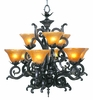 Framburg Lighting (1129) 9-Light Centennial Dining Chandelier