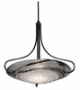 Framburg Lighting - Pleiades Dining Chandeliers in Ebony w/ Black Swirl - FBG-1096