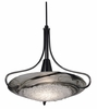 Framburg Lighting - Pleiades Pendants in Ebony/Black Swirl - FBG-1099