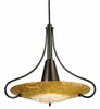 Framburg Lighting - Pleiades Pendants in Mahogany Bronze/Gold Leaf - FBG-1095