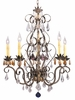 Framburg Lighting - Polonaise Dining Chandeliers in Harvest Bronze - FBG-1635