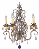 Framburg Lighting - Polonaise Mini Chandeliers in Harvest Bronze - FBG-1634