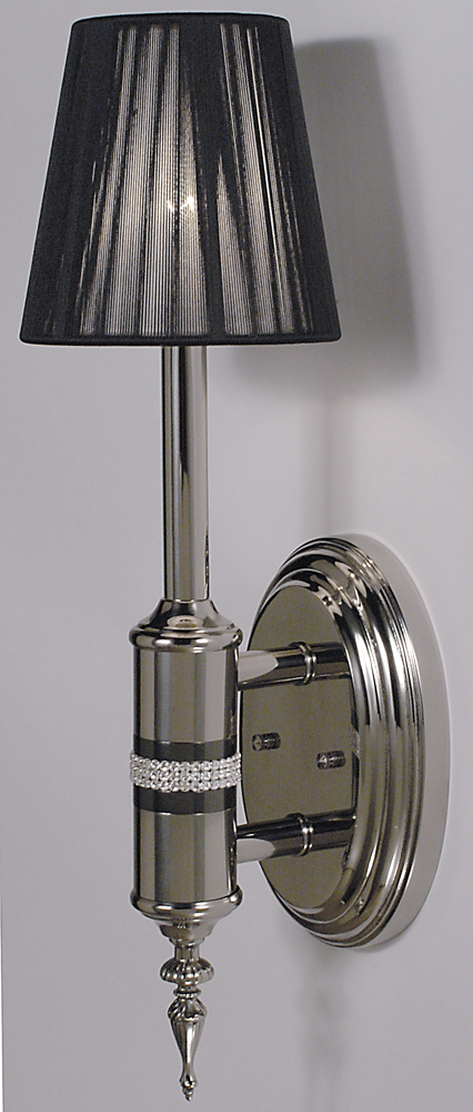 Framburg Lighting (1081) Single Light Sconce from the Princessa Collection