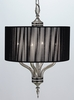 Framburg Lighting (1084) Four Light Chandelier from the Princessa Collection