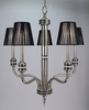 Framburg Lighting (1085) Five Light Chandelier from the Princessa Collection