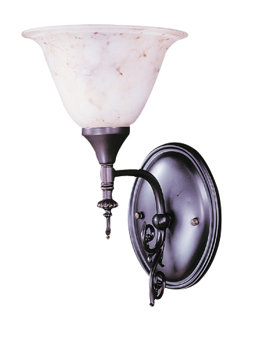 Framburg Lighting (9421) Single Light Sconce from the Black Forest Collection