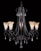 Framburg Lighting (9725) Five Light Chandelier from the Liebstraum Collection