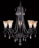 Framburg Lighting (9725) 5-Light Liebestraum Dining Chandelier
