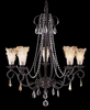 Framburg Lighting - Rhapsody Dining Chandeliers in Mahogany Bronze - FBG-9725